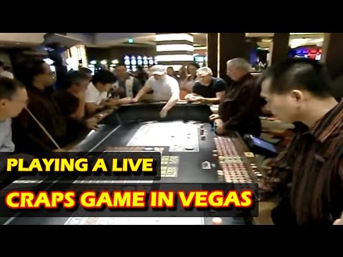 Playing a LIVE CRAPS session in Planet Hollywood Casino – Las Vegas – GREAT STREAK!