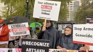Armenian Communities Gather for Silent Protest at UN in NY, Vienna and Geneva