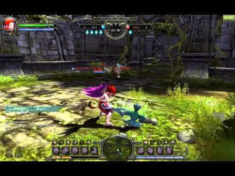 Dragon Nest PvP: Destroyer VS Sniper