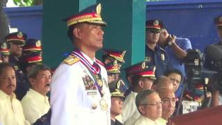 Outgoing PNP chief Marquez gives farewell speech
