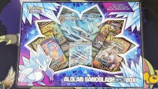 Pokemon Alolan Sandslash GX Box Opening! by The Pokémon Evolutionaries