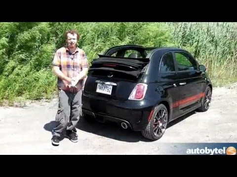 Autobytel Auto Extra: Fiat 500 Abarth Cabrio Top Operation