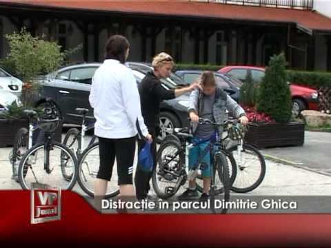 Distracţie în parcul Dimitrie Ghica