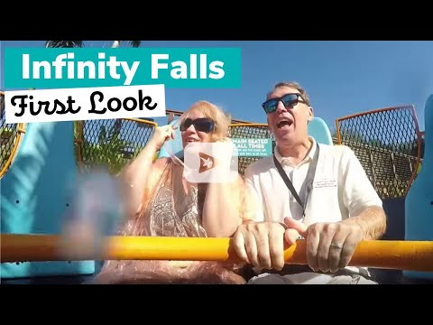 FIRST LOOK: Infinity Falls SeaWorld Orlando POV
