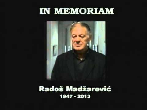 IN MEMORIAM – РАДОШ Ж. МАЏАРЕВИЋ