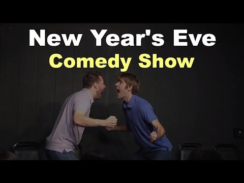 Made Up Theatre's New Year's Eve Comedy Show 2014 Celebration