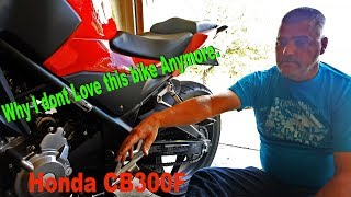 6. Honda CB300F Long Term Update ... Not what I expected