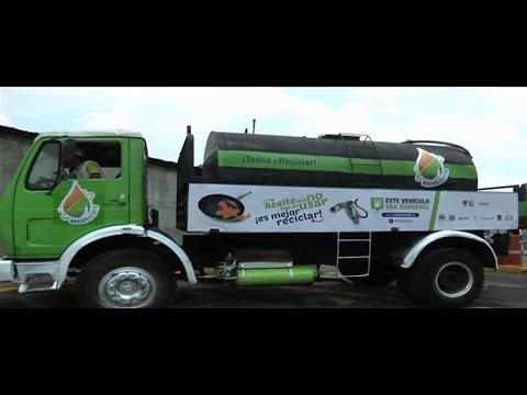 Reciclamos aceite por la Tierra