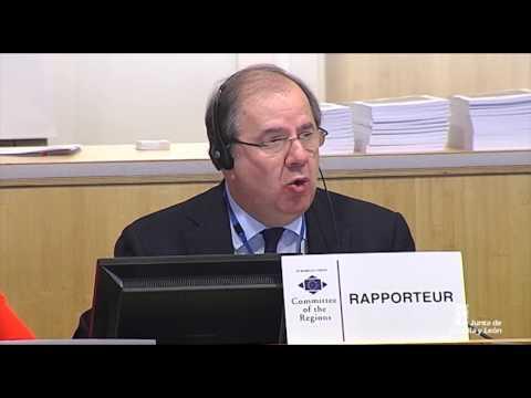 La intervención del presidente Herrera en Bruselas.