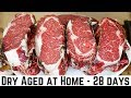 How To Dry Age Beef at Home - 28 Days