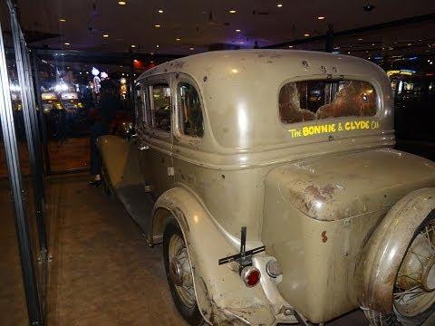 Bonnie & Clyde Death Car 1934 Ford 730 Primm Nevada I15 Outlaw Cars