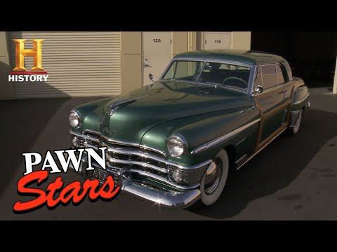 Pawn Stars: Corey Drives a Hard Bargain for 1950 Chrysler (Season 13) | History