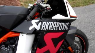 2. 2010 KTM RC8R Akrapovic Limited Edition #15 of 25