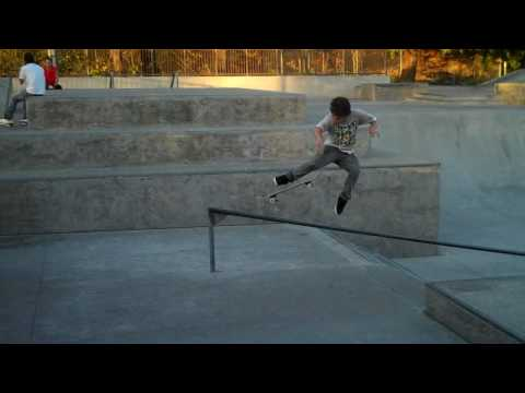 new skateboard trick? No handed Benihana (HD) Not an ollie south, educate yourself