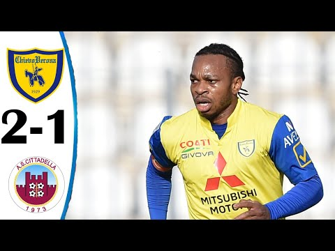 Chievo vs Cittadella 2-1 All Goals & Highlights 27/01/2021 HD