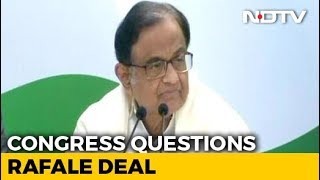 """Dassault Laughed All Way To Bank"": P Chidambaram's Dig On Rafale Deal"