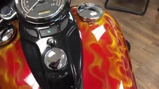 10. 2013 Harley-Davidson FLS Softail Slim walk-around (HDV018912)