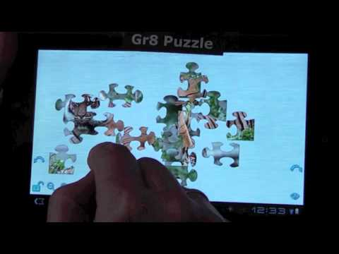 Video of Waterfalls Puzzle HD