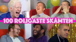 Video 100 ROLIGASTE SKÄMTEN – BEST OF DEN SOM SKRATTAR FÖRLORAR MP3, 3GP, MP4, WEBM, AVI, FLV September 2019