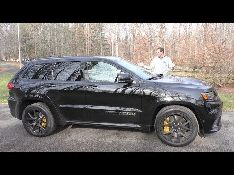 The $100,000 Jeep Trackhawk Is the Most Powerful SUV Ever