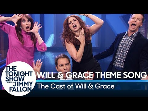 The Cast of Will  Grace Perform Their Theme Song with