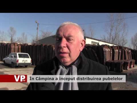 În Câmpina a început distribuirea pubelelor