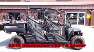 7. 2015 Intimidator 750   6 seater