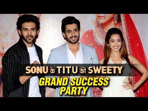 Celebs At Sonu Ke Titu Ki Sweety GRAND SUCCESS PAR