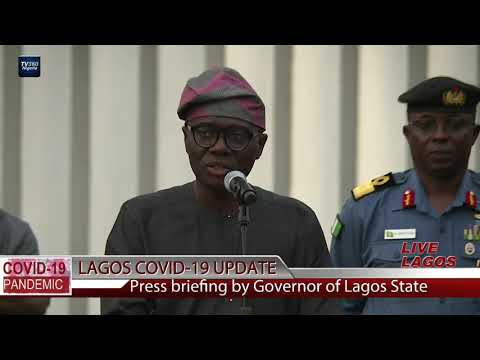 COVID-19: Sanwo-Olu urges Lagosians to cooperate with law enforcement agents | TV360 Nigeria