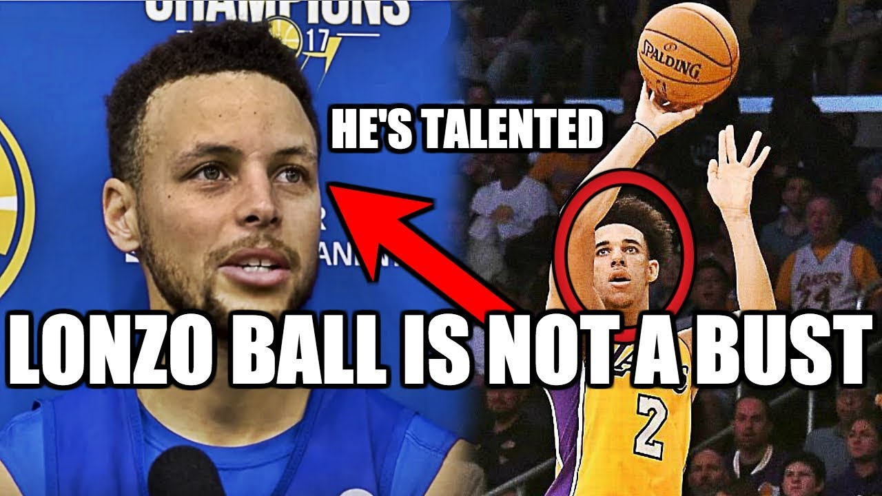 Picture of Why NBA Celebrities Realize Lonzo Ball Is NOT a BUST