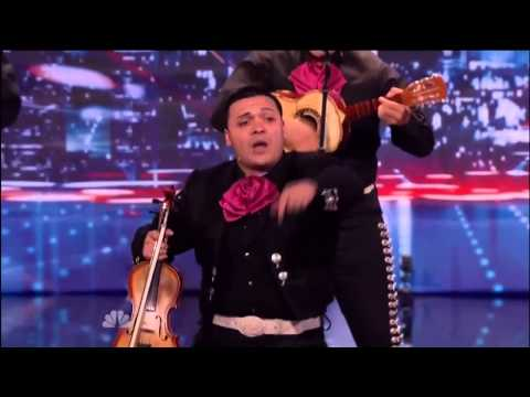 America's Got Talent 2013- Mariachi band