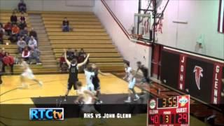 Rochester High School Boys Basketball vs John Glenn