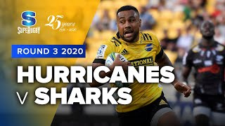 Hurricanes v Sharks Rd.3 2020 Super rugby video highlights | Super Rugby Video Highlights
