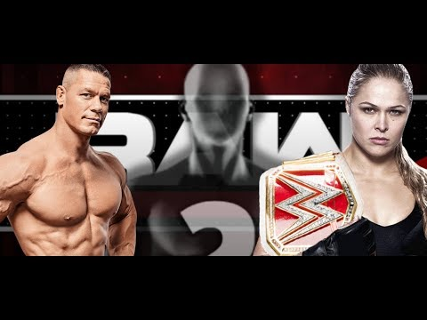 TOP #RAW Star Cancelled From WrestleMania 34! Ronda Rousey Elimination Chamber HUGE JOHN CENA NEWS!