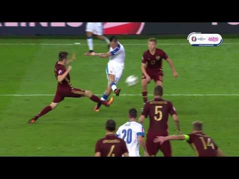 VIDEO - Il favoloso gol di Hamsik contro la Russia