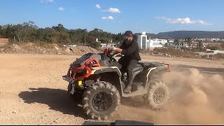 5. 2019 Can Am Outlander 1000R | 2019 Can Am Outlander 570 | surprise for my wife | 4k Video