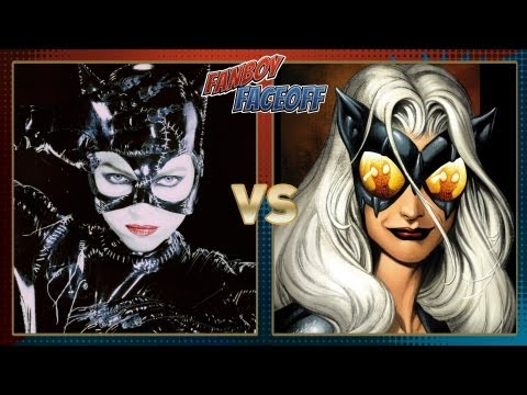 Catwoman Vs Black Cat: Fanboy Faceoff