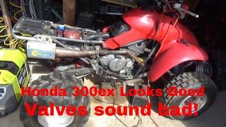 6. Honda TRX 300EX timing chain or Valve Noise? ATV looks mint, sounds bad!