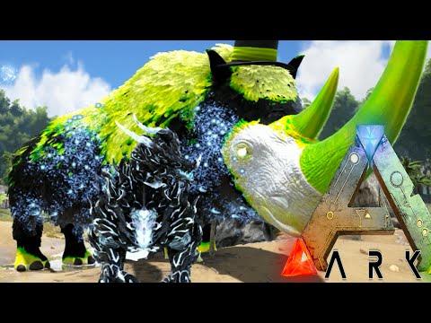Ark Survival Evolved - NEW WARDEN vs NEW DRAGON GODDESS, NEW DRAGON GOD (Ark Modded Gameplay)