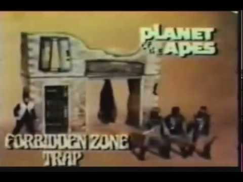 Planet Of The Apes Forbidden Zone Trap 1970 British TV Commerical