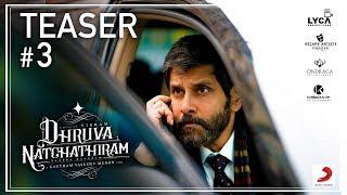 Video Dhruva Natchathiram - Official Teaser | Chiyaan Vikram | Gautham Vasudev Menon | Harris Jayaraj MP3, 3GP, MP4, WEBM, AVI, FLV Desember 2018