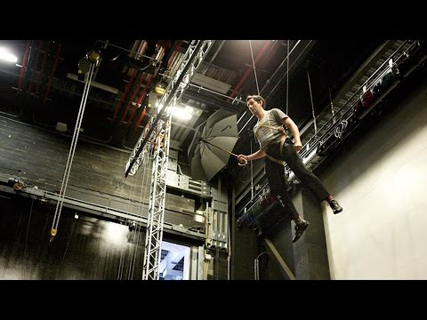 Watch: How to fly on stage like Peter Pan