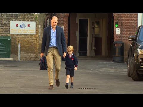 Duchess Kate Misses Prince George's First Day Of School Due to Pregnancy Illness