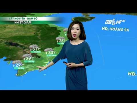 (VTC14)_Thời tiết 6h ngày 03.04.2017