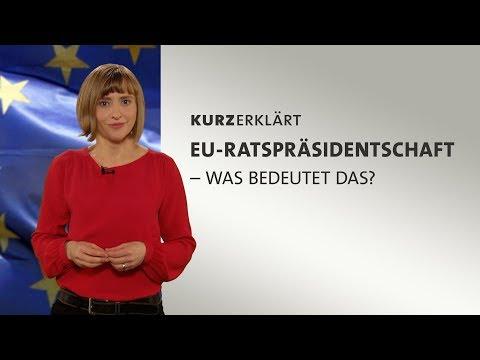 Was ist die EU-Ratspräsidentschaft?