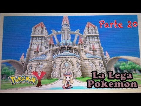Pokemon X e Y - Gameplay Walkthrough ITA - La Lega Pokemon Di Kalos ! ( parte 20 )