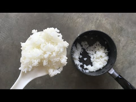 How to cook Rice in a pot for one person