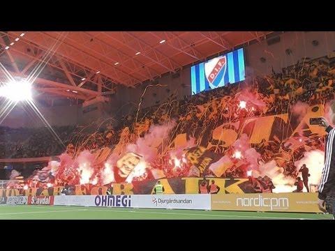 DIF-AIK (2013-09-26) Tifot från Norra