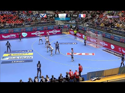 Golden League 2018 (F) M2.3 - Norvège 23-21 France [2018-11-25]