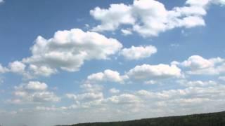 Zeitraffer Frühlingswolken (24.05.2010) Time lapse spring-time clouds
